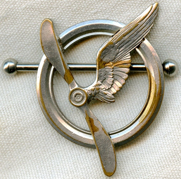 WWI Type I French Air Crew Badge