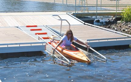 The Dock Doctors | Launch dock systems for Kayak and Canoes