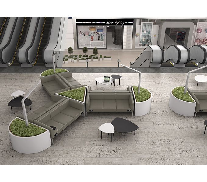Modern Design Office Waiting Room Furniture