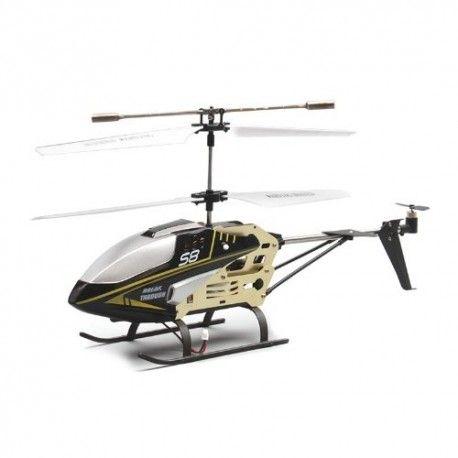 SYMA 3 CH REMOTE CONTROL CELERITY HELICOPTER WITH GYRO - S8 - BLACK  Model:  YMTH06BK Syma Remote Control Helicopter termurah hanya di Gudang Gadget Murah. Syma 3 menggunakan teknologi GYRO yang membuat helicopter terbang lebih stabil. Syma 3-S8 dilengkapi dengan lampu LED sehingga tetap dapat digunakan pada malam hari. Syma 3-S8 hadir dengan design yang halus dan ideal - Black