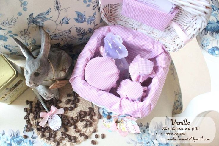 Baby Hamper with Strawberry Pudding Recipe themed hamper