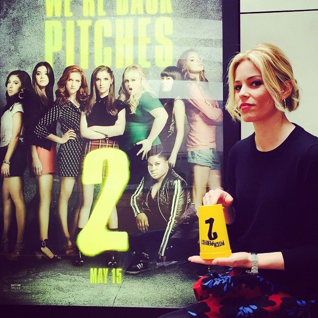 It's all #PitchPerfect2 all day every day until May 15th. #yellowcup