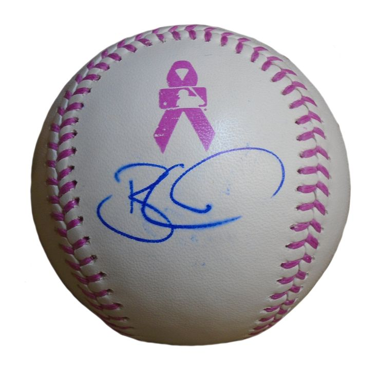 LA Dodgers Brian Wilson signed Rawlings ROMLB pink breast cancer awareness official game baseball w/ proof photo. Proof photo of Brian signing will be included with your purchase along with a COA issued from Southwestconnection-Memorabilia, guaranteeing the item to pass authentication services from PSA/DNA or JSA. Free USPS shipping. www.AutographedwithProof.com is your one stop for autographed collectibles from Los Angeles teams. Check back with us often, as we are always obtaining new…