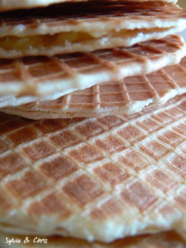 Gaufres flamandes au miel : miam ! :-P