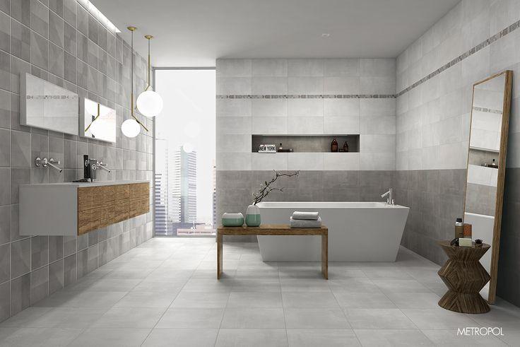 #Baño #Cerámica #CementoCerámico #Bain #Bathroom #Diseño #BañoDeDiseño #Design #Interiorismo #BañoGrande #Tendencia