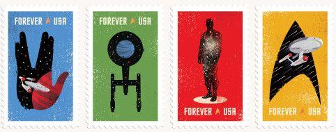 『スタートレック』50周年記念切手、ファンがつくるとこうなる|WIRED.jp