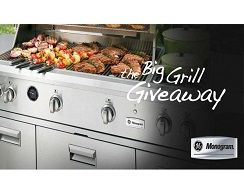 The Big Grill Giveaway from GE Monogram | Fetch Deals Daily Specials