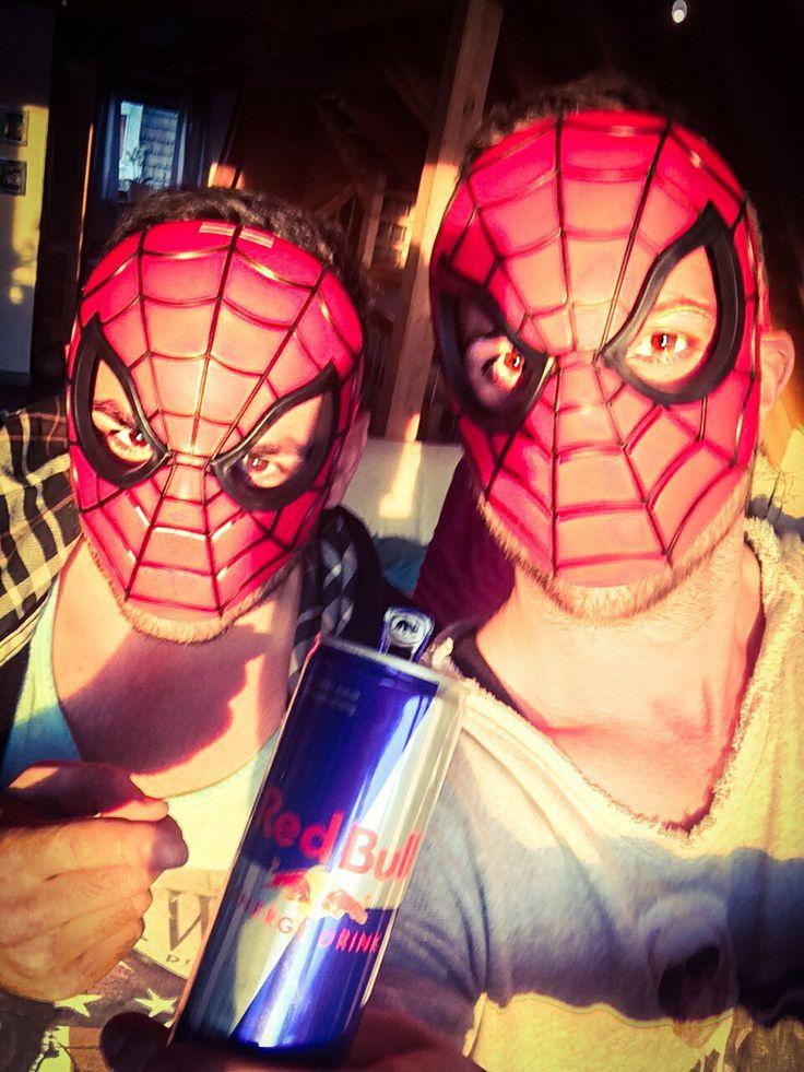 REDBULL Spider-Man  selfie