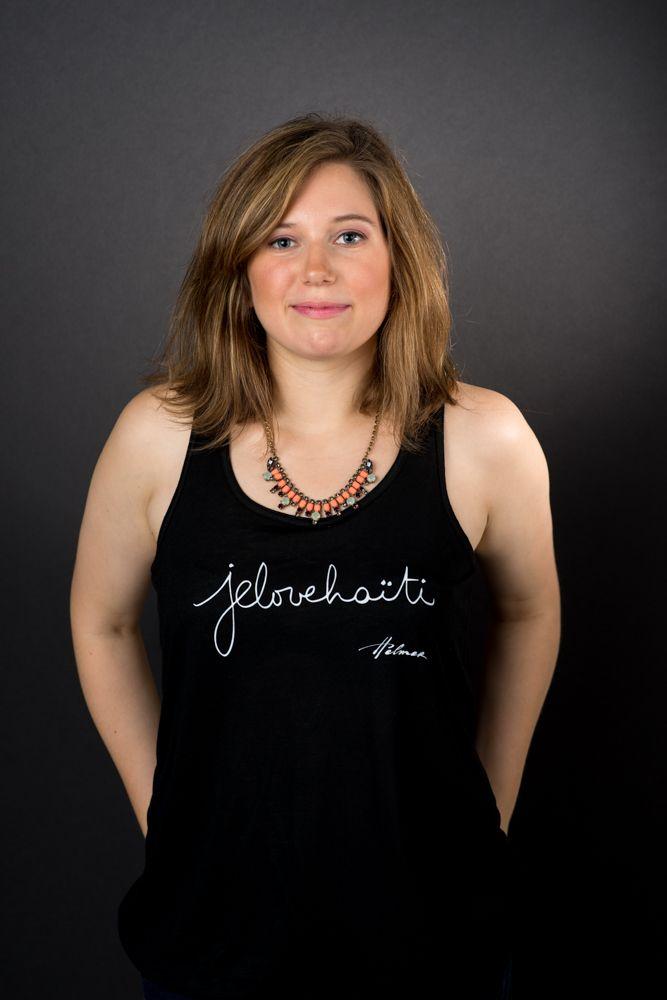 The black cami. Photo: Naskademini Make-up: Mindy Shear
