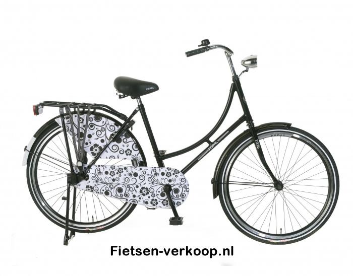 Omafiets Zwart Barok 26 Inch | bestel gemakkelijk online op Fietsen-verkoop.nl