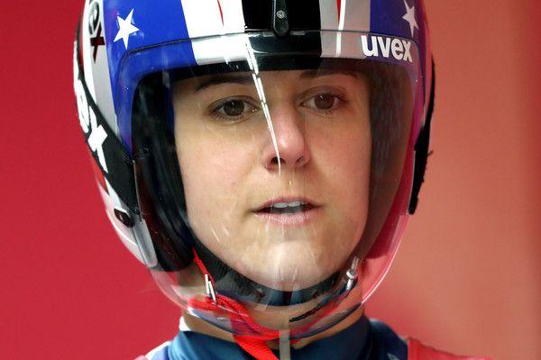 DAY 3:  Luge Women's Singles -  Emily Sweeney of USA