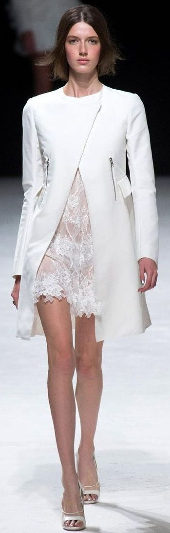 Nina Ricci Paris Spring 2014 coat would be great for work