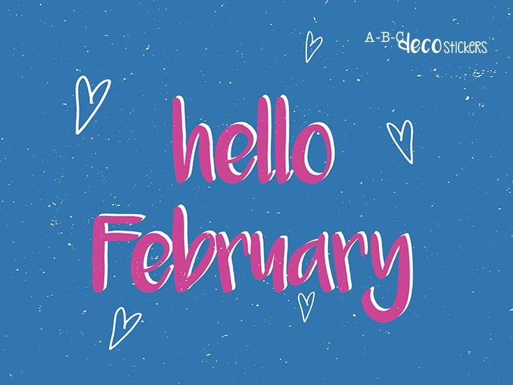Hallo maand van de liefde! 'Vier de liefde elke dag. Het is te mooi om een dag over te slaan.' (quote is van 'Met Aandacht') Letter Zoë, ABC Decostickers.