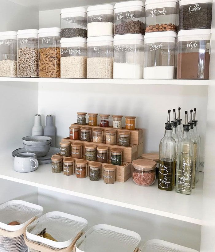 20 of the coolest Kmart hacks EVER! DIY tiered spice rack using bamboo drawer liners. Cool Kmart hack for the Pantry organisation, pantry inspiration, pantry ideas, Kmart pantry, Kmart hack pantry Pantry Organisation, Kitchen Pantry Design, Kitchen Organization Pantry, Diy Kitchen Storage, Diy Storage, Kitchen Decor, Pantry Ideas, Storage Ideas, Kitchen Ideas