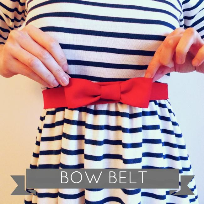 DIY bow belt tutorial  i have looked at a lot of these tonight and this is my FAVE :)