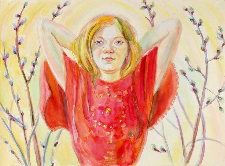 Федосеенко Аделина Сергеевна (1939-2011) Весна. 1969 г.