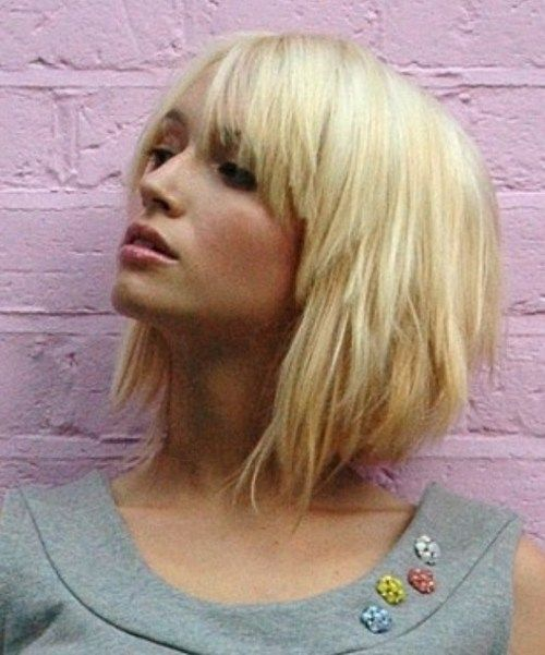 Short Haircuts For Girls 2018 Blonde