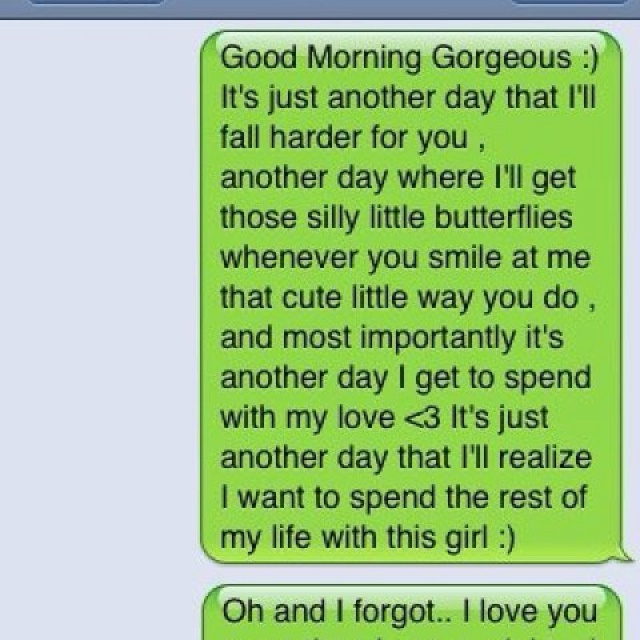 Good Morning Love Messages For Boyfriend On Valentine Day: I Wish I Had A BF Like This!!(;