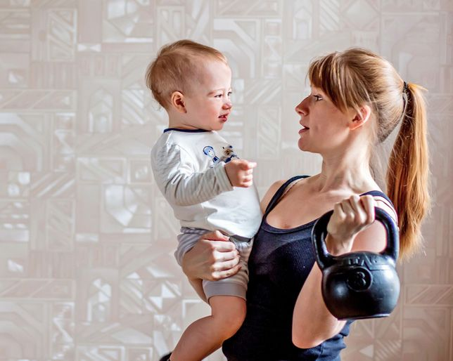 Here at NuStep we encourage mothers to stay active. NuStep can help you shed the baby weight and reach your exercise goals, while setting a healthy lifestyle example for your children.