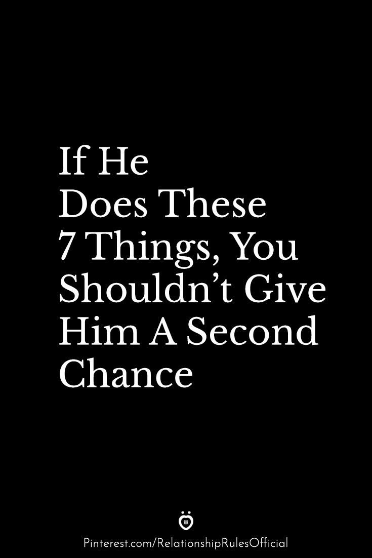 Signs you should give him a chance
