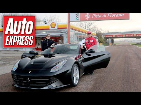 What's a hot lap with Kimi Raikkonen in a Ferrari F12 really like? - YouTube