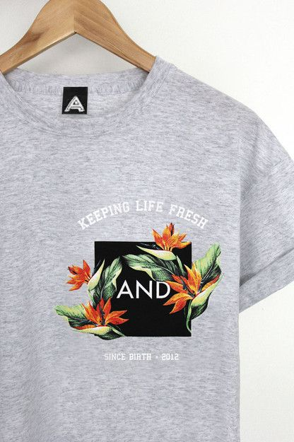 ANDCLOTHING — Keeping Life Fresh Tee