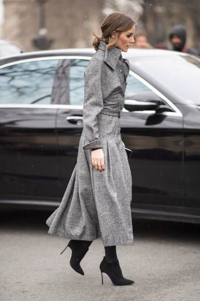 eaba1d069f5 Olivia Palermo seen in the streets of Paris during the Paris Fashion Week  Womenswear Fall Winter 2018 2019 on February 27 2018 in Paris France