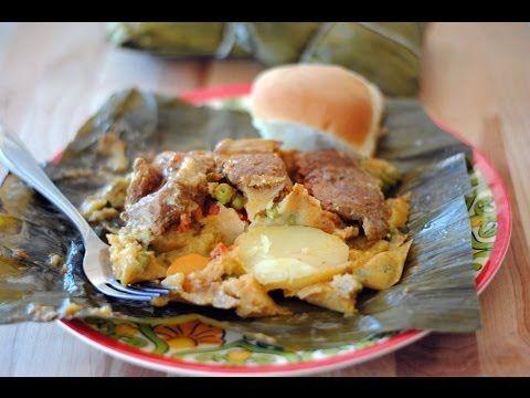 Receta Para Hacer Tamales Colombianos  - Cómo Hacer Tamales Arrieros - Sweet y Salado