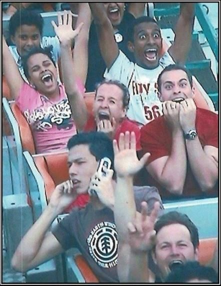 How to ride a roller coaster. Like a Boss.Funny Image, Funny Pics, Animal Humor, Funny Humor, Funny Pictures, Rollers Coasters, Funny Quotes, Funny Stuff, Funny Photos