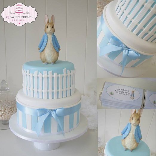 Beatrix Potter cake Peter Rabbit cake by CJ Sweet Treats