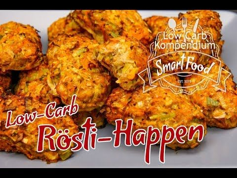 Low-Carb Rösti-Happen – Gemüse-Snack gesund & lecker