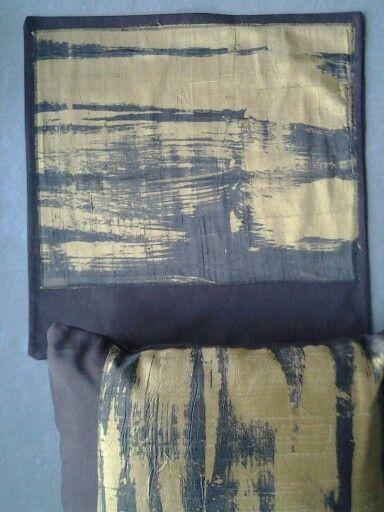 Pillows 5 shantung batik
