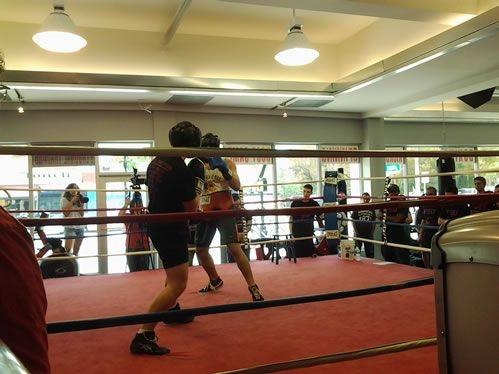 UM VS. FSU College Boxing Program @ Biscayne Boxing in Miami, Florida
