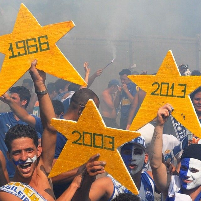 Cruzeiro Tri-Campeão Brasileiro em 2013
