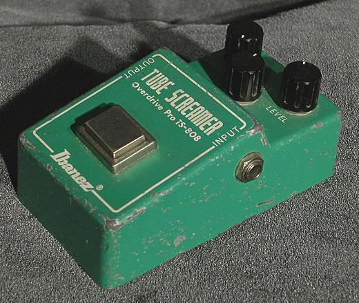 well worn   Ibanez Tube Screamer TS-808