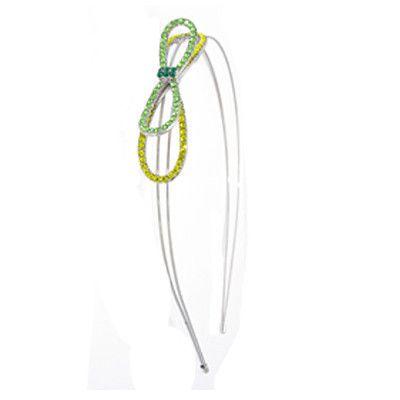 Simple Crystal Bow Headband