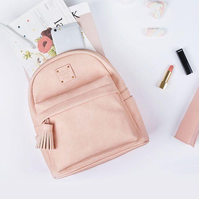 KLEUS :: Женский рюкзак NUEVO MINI OFFICE BACKPACK средний розовый
