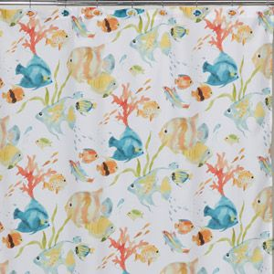 Kids bathroom shower curtain?  I can't believe I found this online at Walmart.  Who knew?