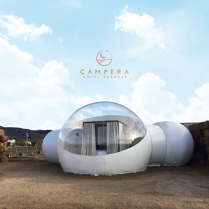 Located in the wine-centric region of Baja California, this Mexican glamping spot is a creative and fresh take on the typical canvas tent camp.   Photo Credit: Campera Hotel