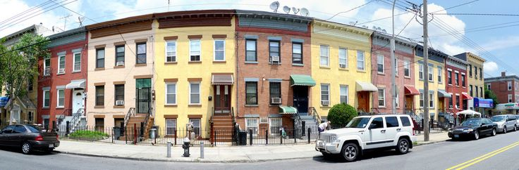 Ridgewood: This gorgeous photo is St. Nicholas Ave. between Stanhope and Himrod Streets - right by Wyckoff Heights Hospital.
