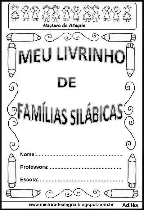 Livro famílias silábicas-capa                                                                                                                                                                                 Mais