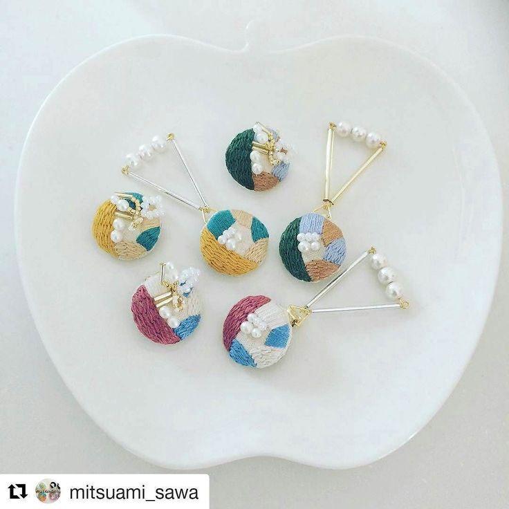 刺繍って女性の憧れだと思います(ω). . 刺繍アクセサリーを納品いただく@mitsuami_sawa さん. いまにもチクチクしている音が聞こえてきそう. . 人の手で彩られるこんなに素敵な品物があるんだってことこれからも伝えていきたくなります. . . . . デザインフェスタに出展します. http://designfesta.com/ 東京ビッグサイト東ホールにて. . 5月27日(土)28日(日). ブースNo.E-348. 両日出展です. . . . .   @LINE開始しました. . MUDOUdesignアカウント. @iur4540t. . . MUDOUdesignの新作チェックの他展示会の出展者募集をいち早くお知らせします MUDOUファンの方やクリエイターさんにぜひぜひご登録をお願いいたします . . #mudoudesign #musubigift #千葉 #tiba #東京 #tokyo #自由が丘 #design #デザイン #handmade #手仕事 #職人 #ギフト #お気に入り #simple #natural #日常 #camera…