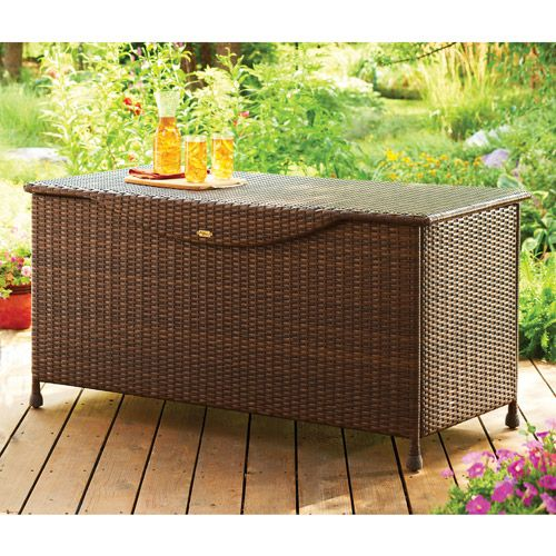 Better Homes Gardens Deck Box Rust Patios And Deck Storage