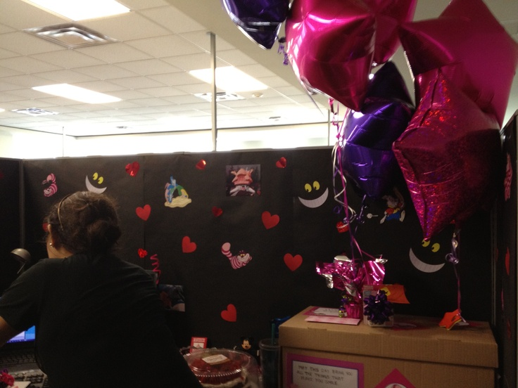Halloween Office Decorations Cubicle