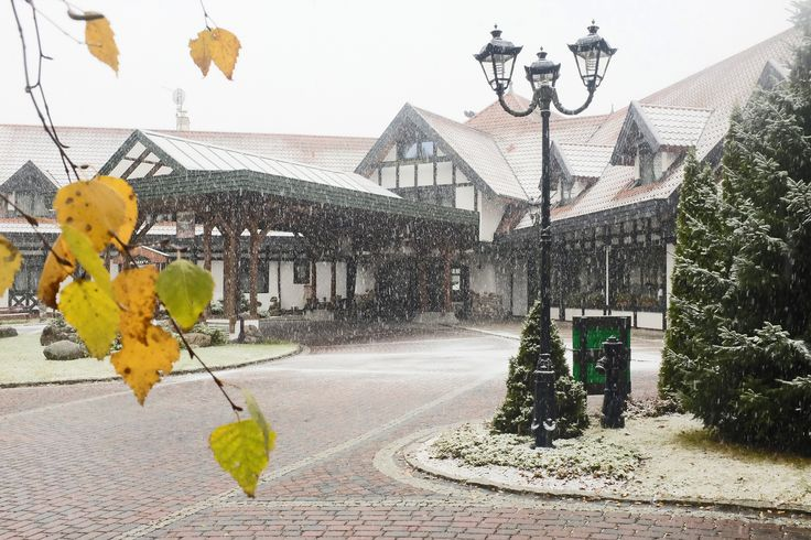 Autumn !!! in the Hotel WARMIA PARK Poland Pluski near Olsztyn, Warmia and Masuria