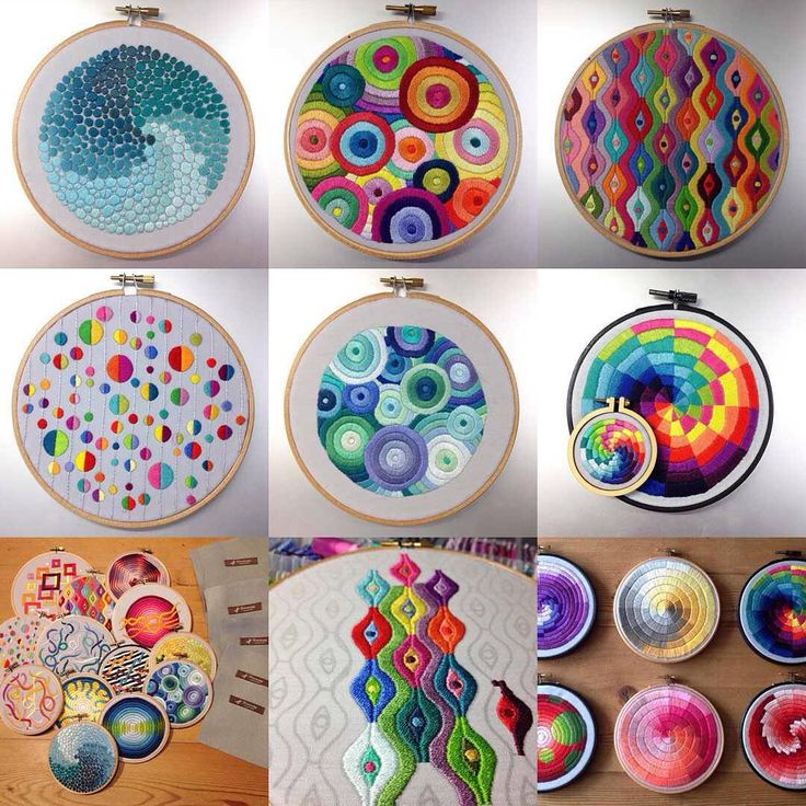 Jumping on the bandwagon My #2015bestnine ..... #embroidery #handembroidery…