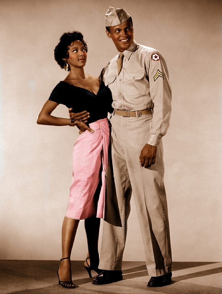 Dorothy Dandridge & Harry Belafonte in Carmen Jones (1954)