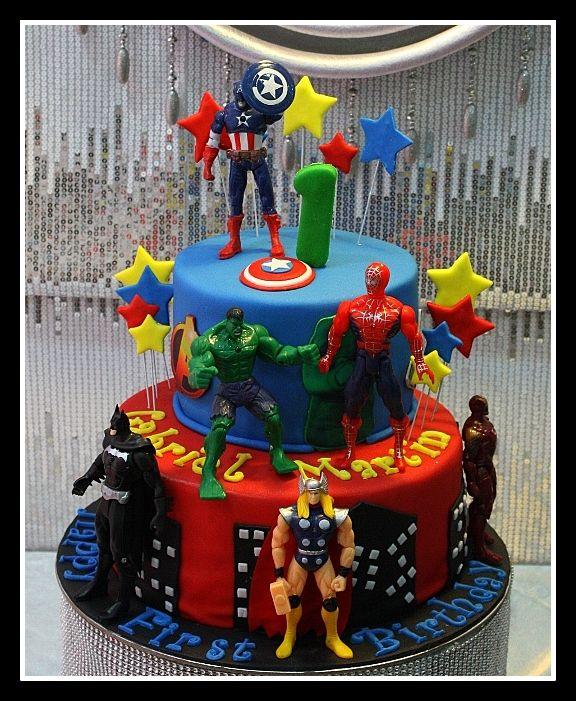 avengers cake Pinteres