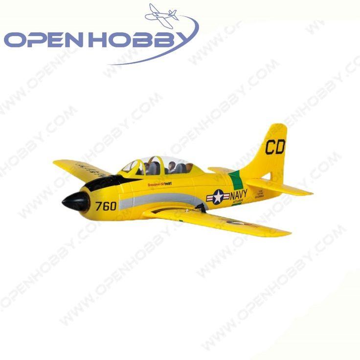 177.00$  Watch now - http://ali7hu.worldwells.pw/go.php?t=32704588097 - Graupner T-28 RC Airplane Training Aircraft ARF 2.4G Radio Control Airplane with GR-12 3XG Gyro receiver ESC Motor Servo