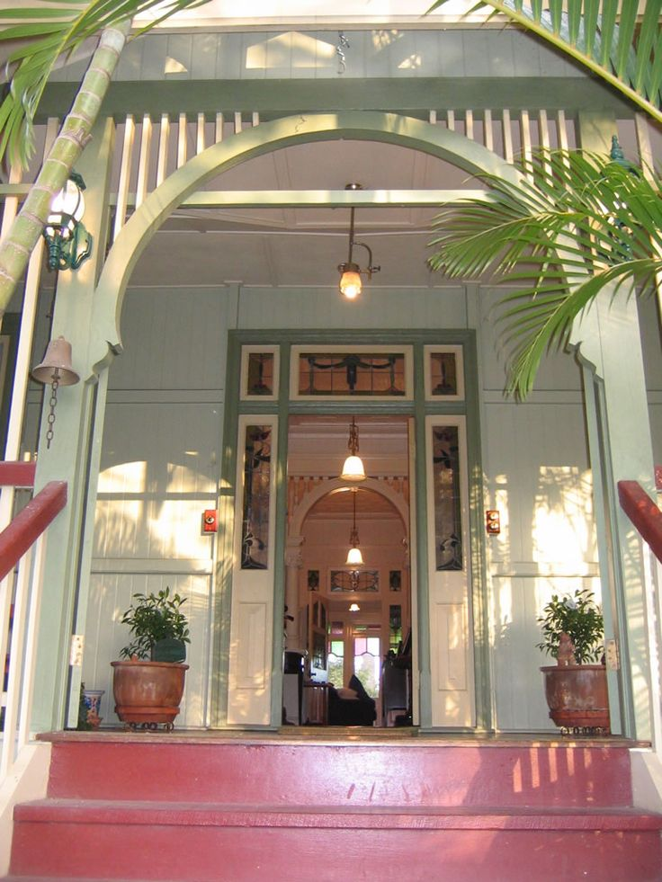 This front door reminds me of the islands its time to for Front door queenslander